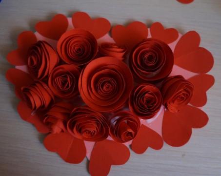Как делать сердечки из бумаги (52)