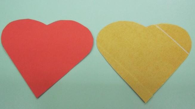 Как делать сердечки из бумаги (58)