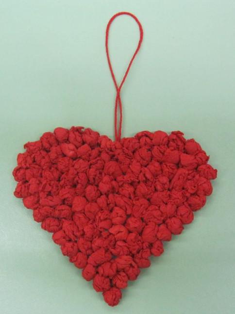 Как делать сердечки из бумаги (62)