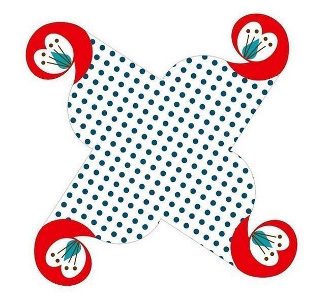 Коробочка для подарков своими руками шаблоны
