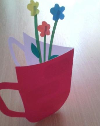 Подарок бабушке из бумаги своими руками (15)