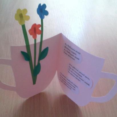 Подарок бабушке из бумаги своими руками (17)