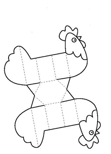 Поделки из бумаги на Пасху.