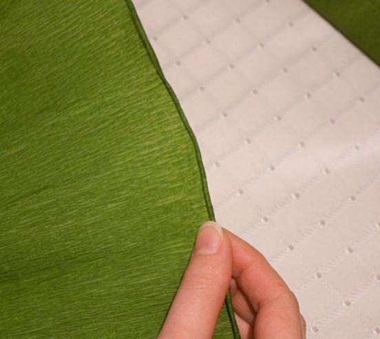 Подсолнух из гофрированной бумаги (34)