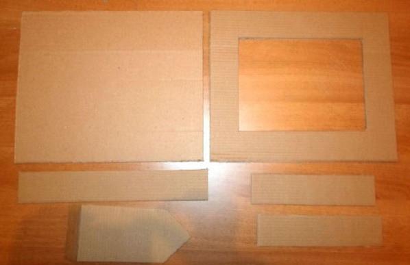 Рамка для фото из бумаги