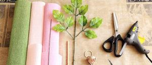 Роза из гофрированной бумаги (4)
