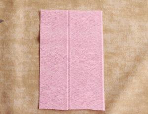 Роза из гофрированной бумаги (5)