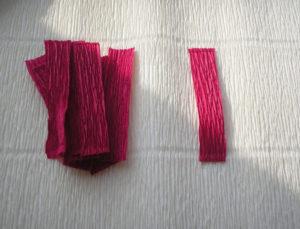 Розы из гофрированной бумаги пошагово (3)