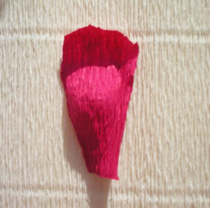 Розы из гофрированной бумаги пошагово (8)