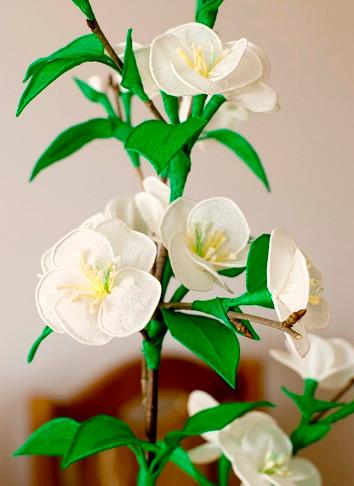 Цветы из гофрированной бумаги для начинающих (1)