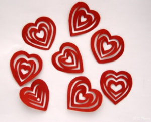 как сделать сердечки (2)
