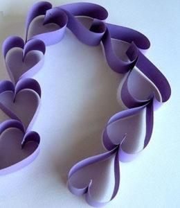 как сделать сердечки (9)