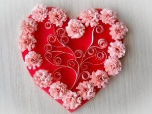 сердечки квиллинг (2)
