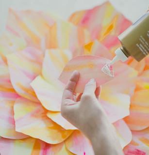 Большие цветы своими руками (3)