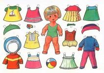 Бумажные куклы с одеждой (25)