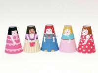 Бумажные куклы с одеждой (36)