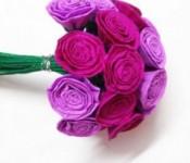 Как сделать розу из бумаги своими руками (18)