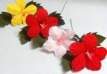 Как сделать цветы из бумаги своими руками (14)