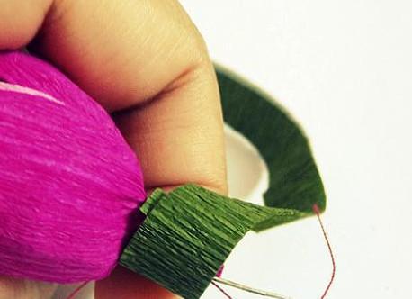 Как сделать тюльпаны из бумаги своими руками.