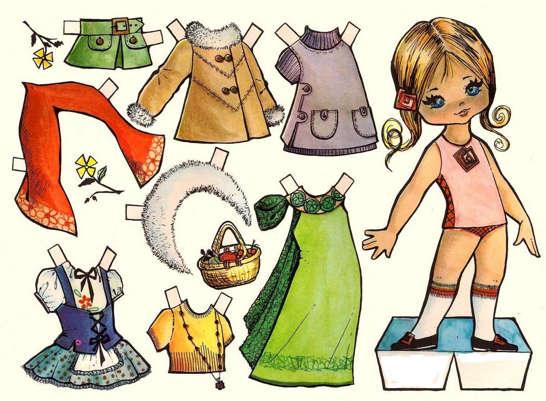 Куколки бумажные своими руками