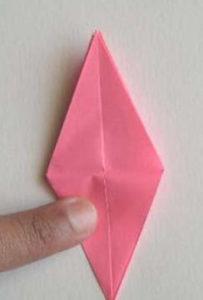 Лилии из бумаги оригами
