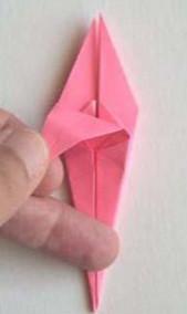 Лилии из бумаги оригами (19).
