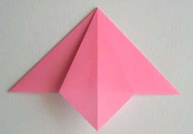 Лилии из бумаги оригами.