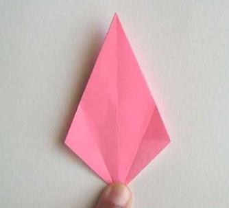 Лилии из бумаги оригами (8)