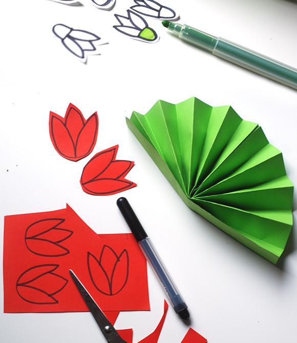 Открытки с цветами своими руками.