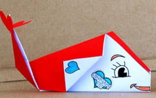 Оригами рыбы.