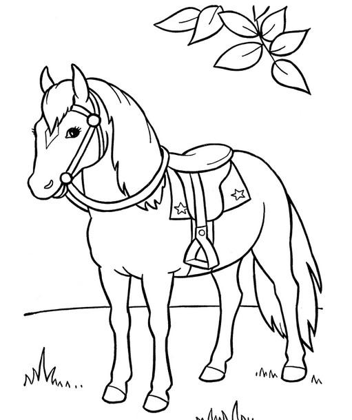 Детские поделки лошадь