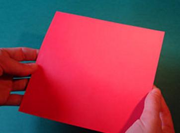 Домик из бумаги.