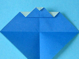 Как сделать кораблик оригами.