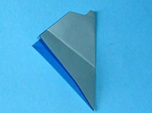 Как сделать кораблик оригами (30)