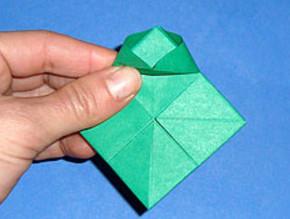 Как сделать кораблик оригами .