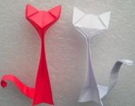 Кошка оригами (1)