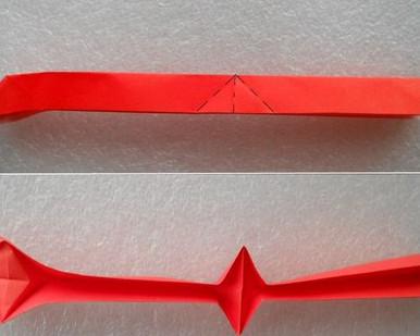 Кошка оригами .