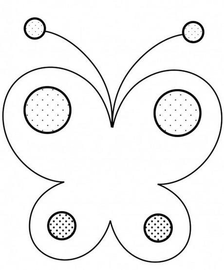 Раскраски бабочки