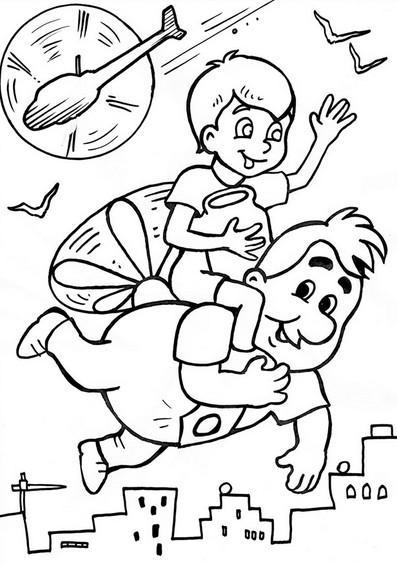 Раскраски для мальчиков 5-7 лет