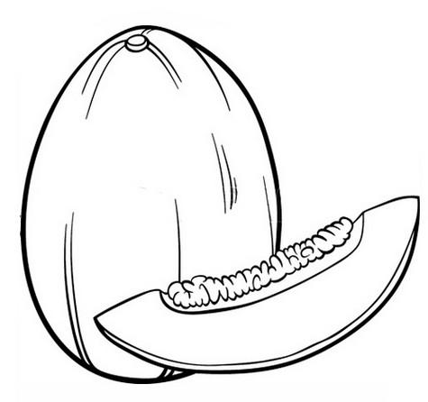 Рисунок с фруктами