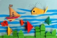 Рыбки оригами (43)