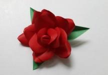 Цветы из бумаги (39)