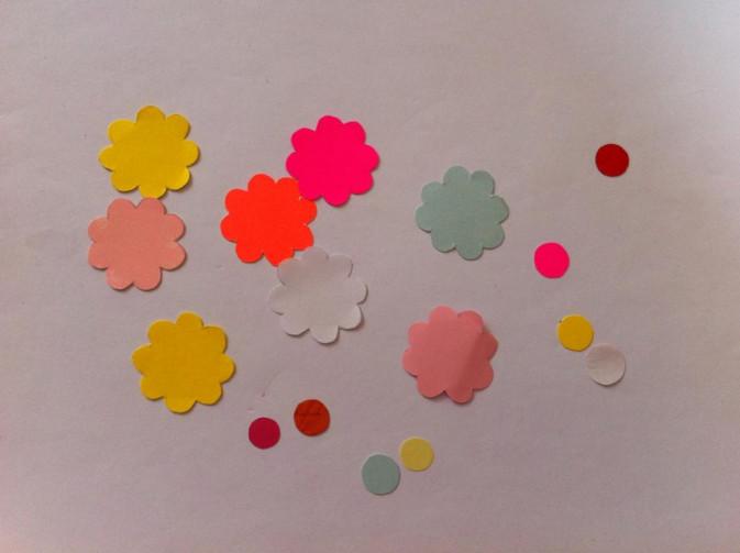 Цветы для поделок из бумаги 90