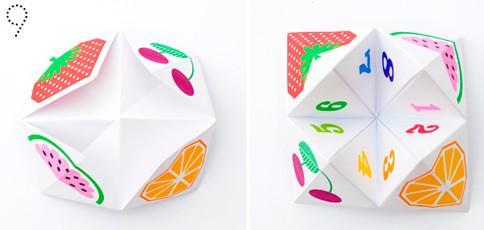 Гадалки из бумаги (25)