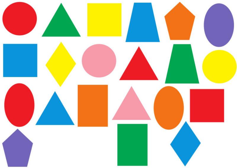 Геометрические Фигуры Для Детей В Картинках