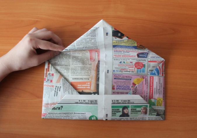 Из газеты своими руками