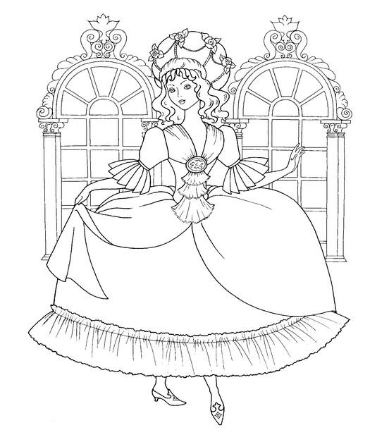 Ракраски принцессы