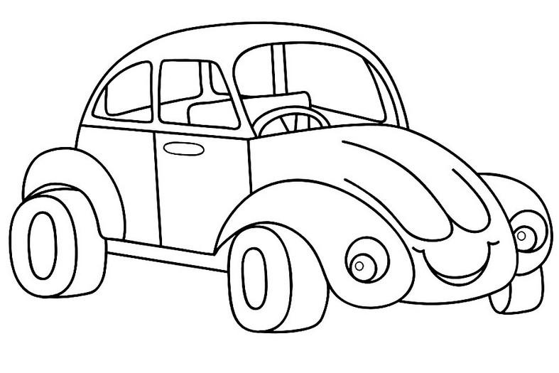 Раскраски машины
