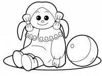 Раскраски с игрушками (33)