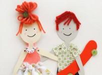 Как сделать куклу из бумаги (17)